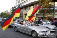 Germany vs Argentina Streets Hype