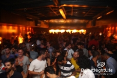 Fady Ferraye and Dj Johnny De Moi at B018 2011/08/19