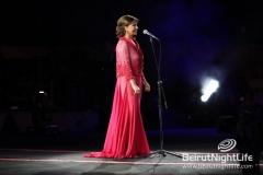 Magida El Roumy Live In Batroun Festival 20120825