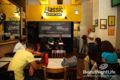 Press conference for Beirut Motorcycle show and Outdoor Lebanon 2012