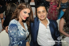 Ragheb and Haifa At BIEL NYE