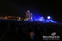 Red Hot Chili Peppers Live At Beirut Waterfront 2012