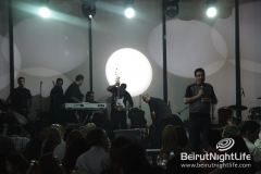 Sara Al Hani, Rami Ayach And Dina Hayek Live At K Room 20120825