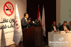 Syndicate Of the Owners of Restaurants and Cafes in Lebanon Press Conference at Monroe Hotel 20121002